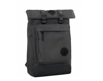 Roll top Backpack, Canvas Backpack, Mens Backpack laptop, Womens Backpack canvas, hipster backpack, college backpack, women rucksack rolltop
