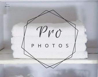 Linen Closet Shelf Stock Photo | Professional Organizing | Linen Closet