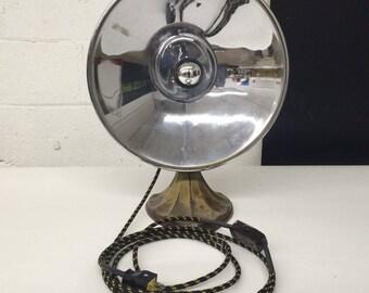 Chrome Reflector Heating Lamp