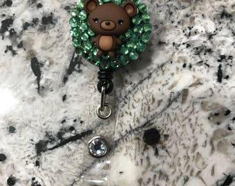 Teddy Bear Badge Reel