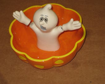 Dept 56 Ghost Candy Bowl 56.35240    [6467bs]