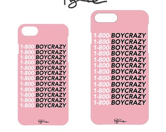 "RYLIE ""1-800-BOYCRAZY"" iPhone Case 6 / 7 / 8"