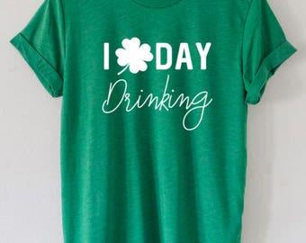 Lets day drink tshirt, Lets day Drink Shirt, St patricks day drinking shirt, Leprechaun day Shirt, Womens St patricks day shirts, Shamrock