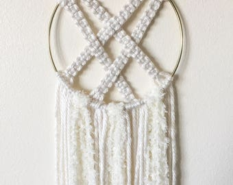 Angel Falls: Yarn Wall Hanging