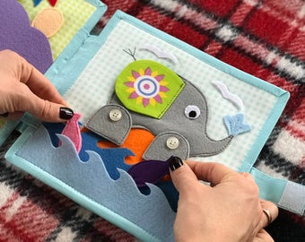 Busy Book for Toddler – Felt Quiet Book for Baby