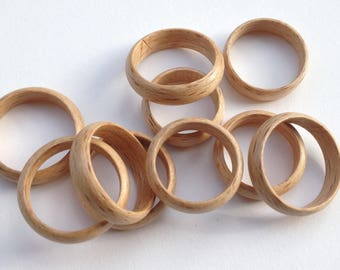Laminated ring glued beech
