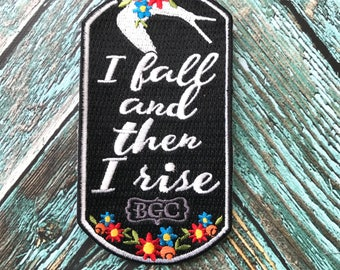 I Fall and I Rise Patch