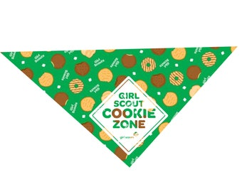 Girl Scout Cookie Time Dog Bandana
