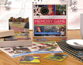 Memory Game: Mini–Masterpieces Barnes Foundation Edition - An intergenerational matching game for kids & adults on a social justice mission.