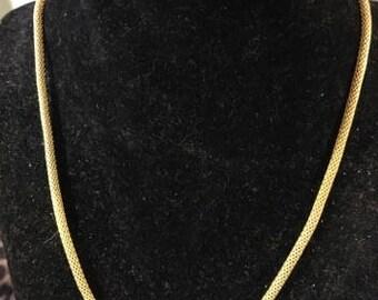 "Goldtone Necklace 24"""