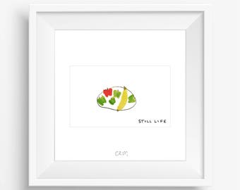 CRUM | Still Life (white)