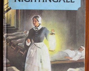 Vintage Ladybird Book in Gaelic - Floireans Nightingale by L. Du Garde Peach