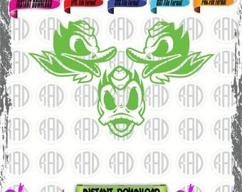 Oregon Ducks, Cut Files, EPS, SVG, PNG, Vector