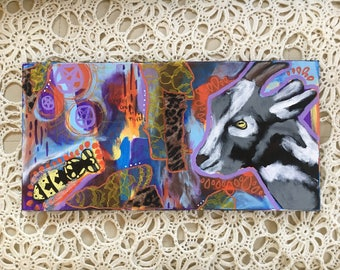 Chaos Reigns ~ Original Multimedia Art on Canvas