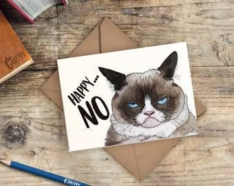 Grumpy cat birthday  Etsy