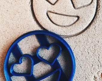 Emoji heart Cookie Cutter