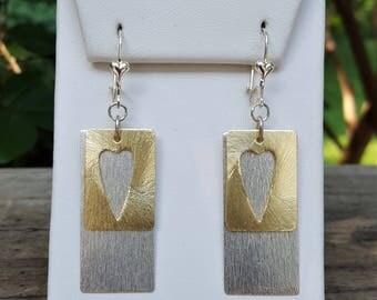 I Love Hearts Dangle Earrings