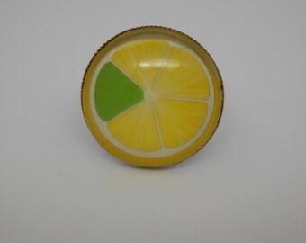 Lemon slice ring