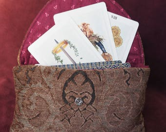 Tapestry Tarot Pouch