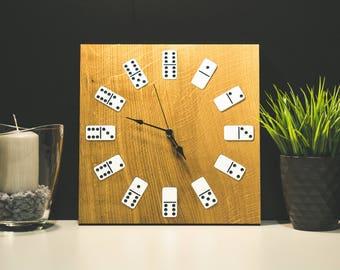 Large Wooden Clock, Rustic Wall Clock, Unique wooden clock, Natural Wood clock, Wall Decor, Home Decor, Wodden Clock, Large Rustic clock