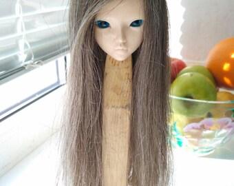 "Sale Wigs on Minifee, bjd ,MSD ,MNF, 7-8"" wig,Size 7-8"",minifee, wig minifee, natural hair, minifee Doll"