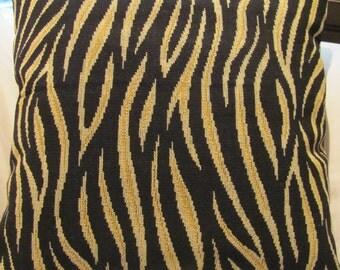 Lee Jofa Tiger Print Frieze Pillow Cover