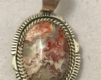 Jasper Sterling Silver Pendant