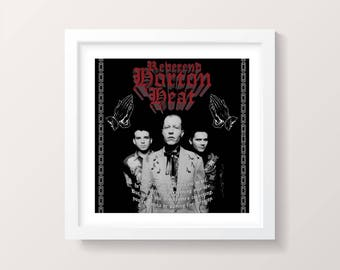 Reverend Horton Heat Rockabilly Psychobilly Punk Poster