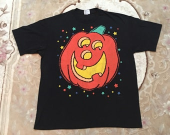 VINTAGE HALLOWEN SHIRT 90's