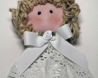 Angel Cera Doll Ornament and Display