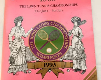 1993 Wimbledon Championships Official Program for June 29th The 100th Ladies Championships