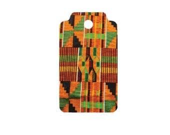 Serengeti Kente Cloth Pattern Gift Tags - 2 Sizes, Holiday Gift Tag, Christmas Gift Tag, Christmas Party Tag, Kente Fabric, Kwanzaa