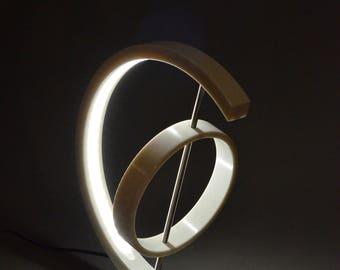 Table lamp, Interior lighting, Metal light, Led lamp, Ledstrip design, Bauxite, Franke solid, YT 040-F20