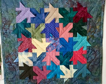 Quilted Arrows - Which way to go
