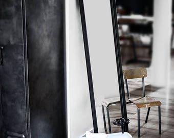 Custom-made mirror style loft-industrial-workshop