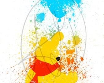 Winnie the Pooh Inspired Digital Painting