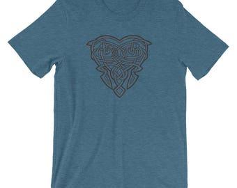 Celtic Heart 2 T-shirt Unisex Graphic T-Shirt