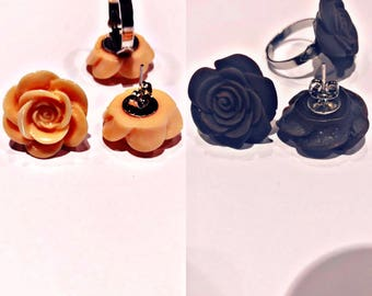 Rose Earring's and ring's
