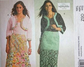 Skirt and Bolero Jacket Pattern - McCall's 5603
