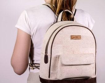 White Cork Backpack