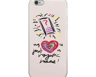 My Heart is Just a Mystic Mess iPhone Case