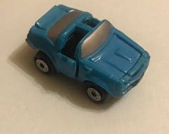 Retro Blue Pontiac Trans Am Micro Machine Deluxe circa 1980's