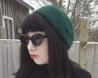 Vintage beret size small.