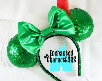 Peter Pan Ears Custom Minnie Ears