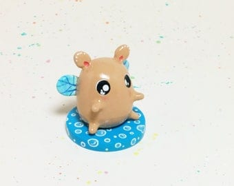 Mini Critter #7 - Hamster Fairy Figurine
