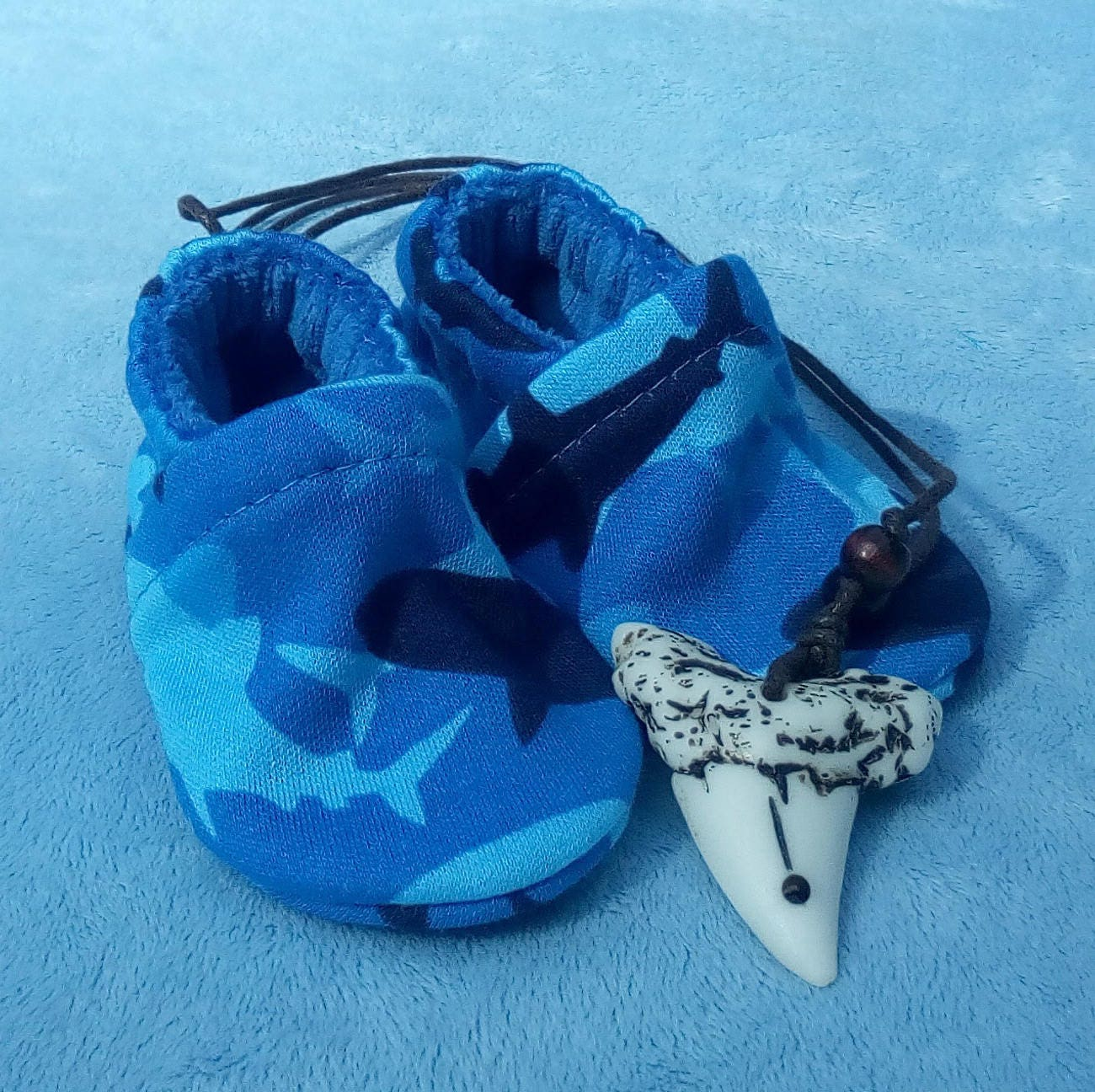 Sharks: Soft Sole Baby Shoes 0-3M