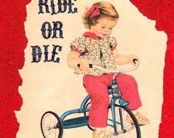Ride Or Die {Original Collage}