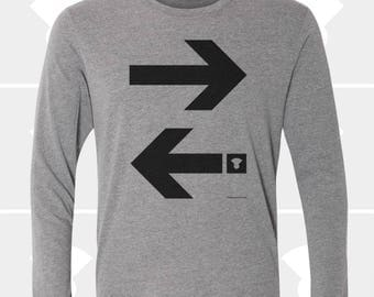 Arrows - Unisex Long Sleeve Shirt