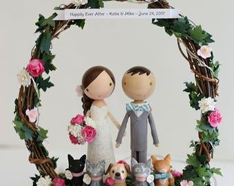 custom wedding cake topper - order for -TRININAJERA