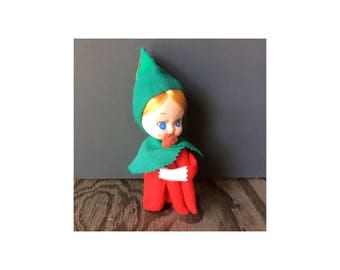 1950s Elf Knee Hugger Decoration - Made in Japan